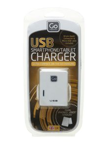 Go Travel Twin USB charger UK