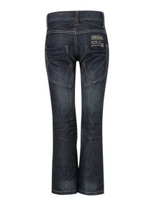 Boys regular fit mid wash jeans