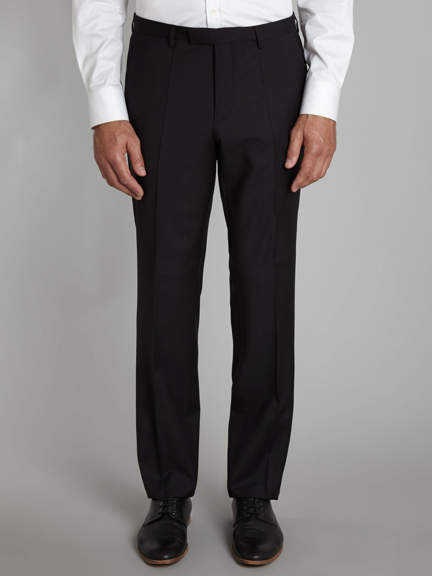 Shout regular fit suit trousers
