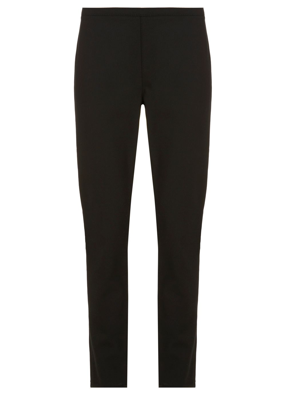 Black Luxury Jersey Treggings