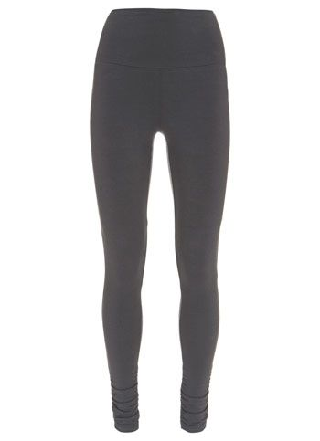 Slate Ruched Leggings