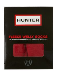 Unisex fleece sock