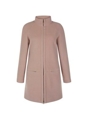 Hobbs Pink Coat | Down Coat