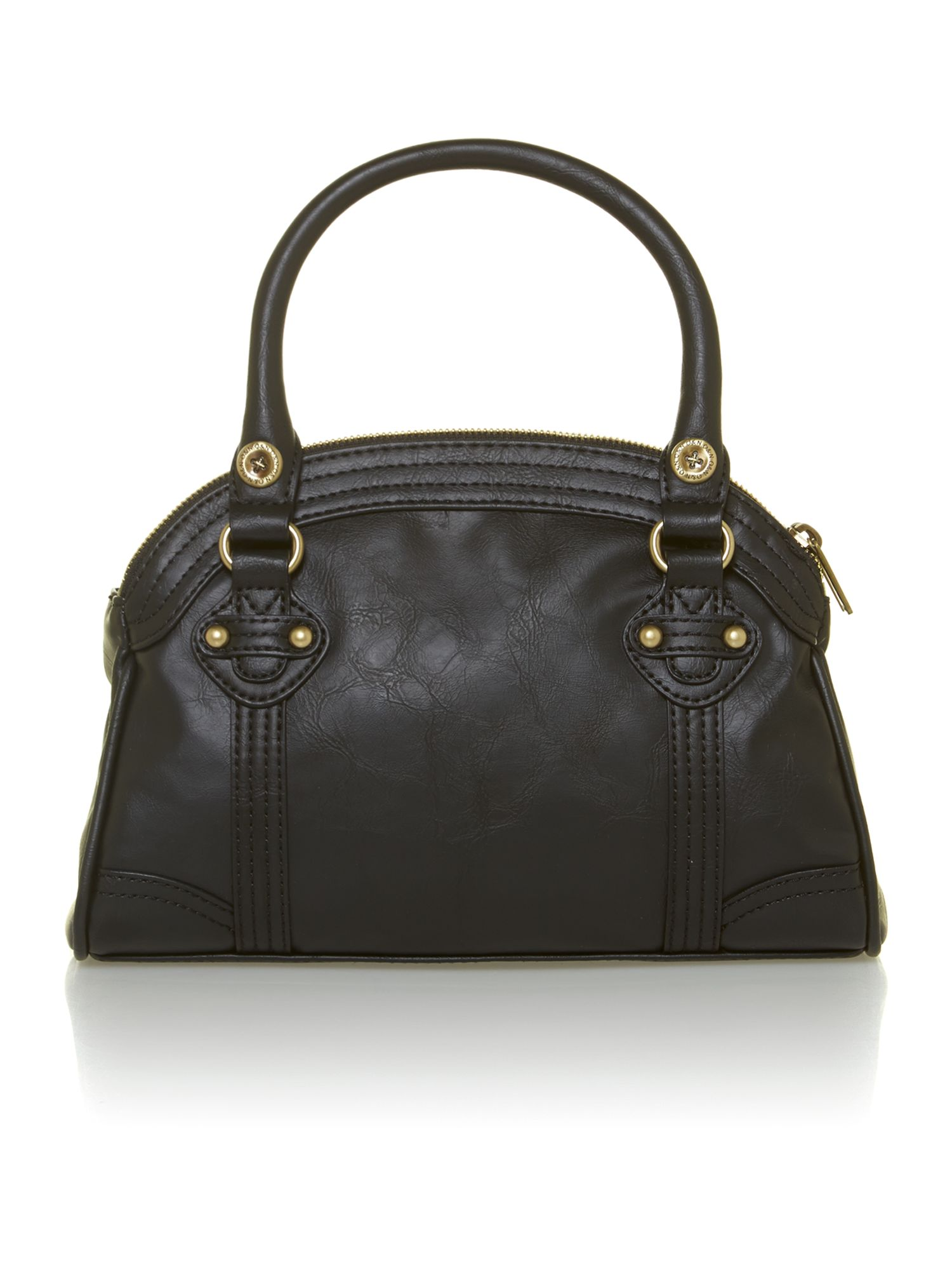 Libby mini black bowling bag