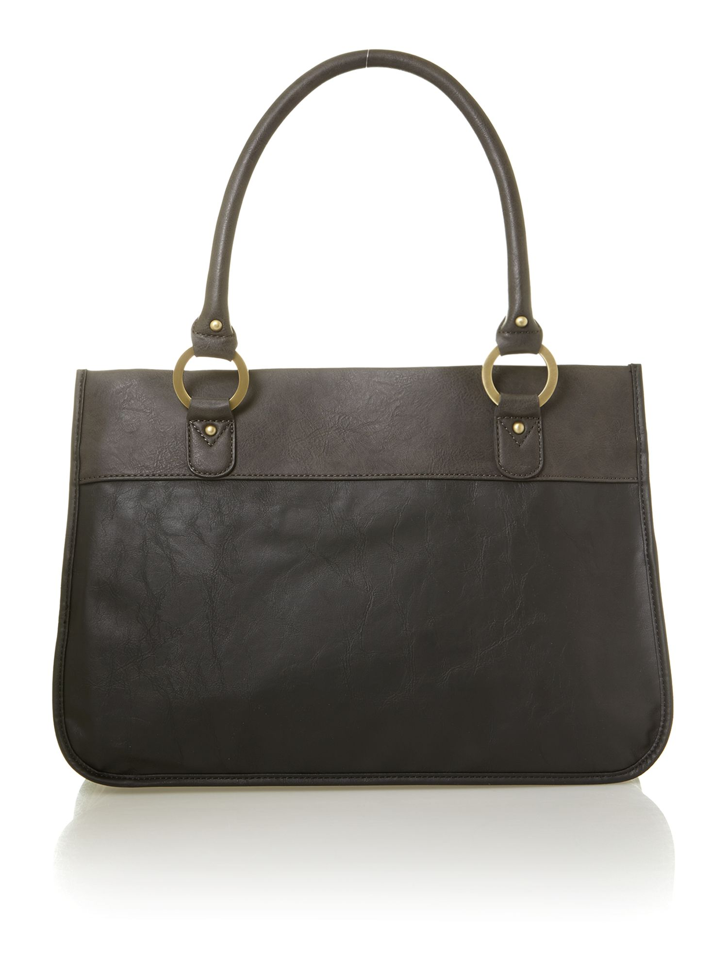 Nicholas black large tote bag