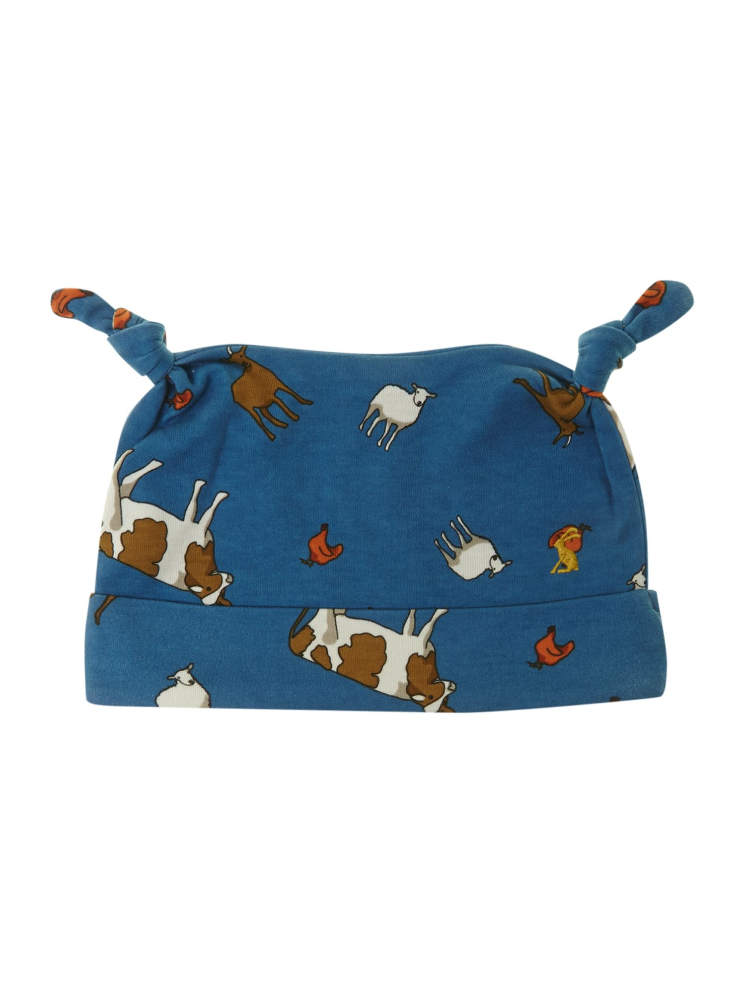 Boy`s farm print hat