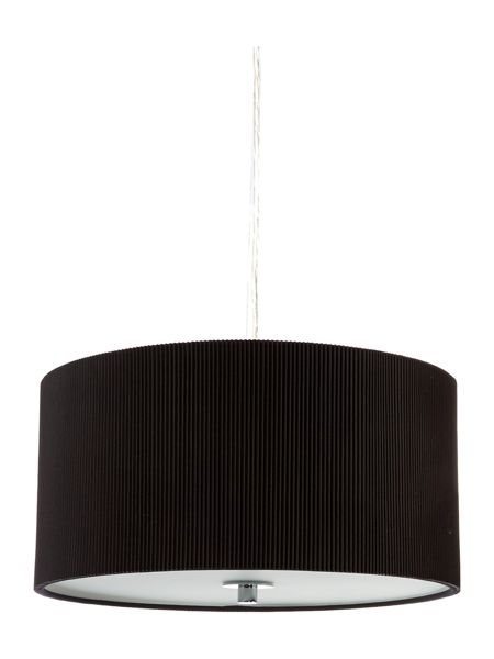 Linea Zaragoza medium black ceiling pendant