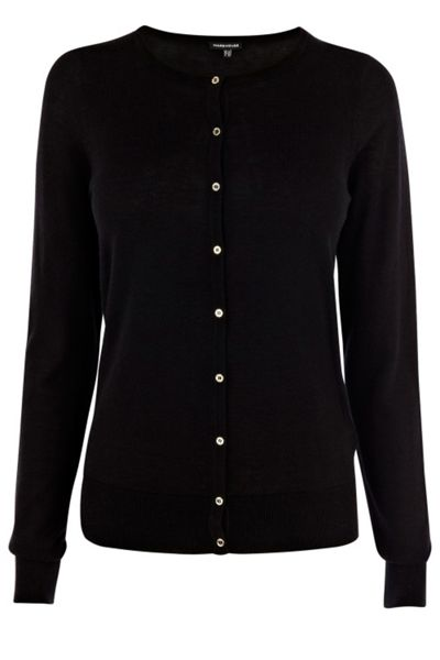Warehouse Mini button crew cardi