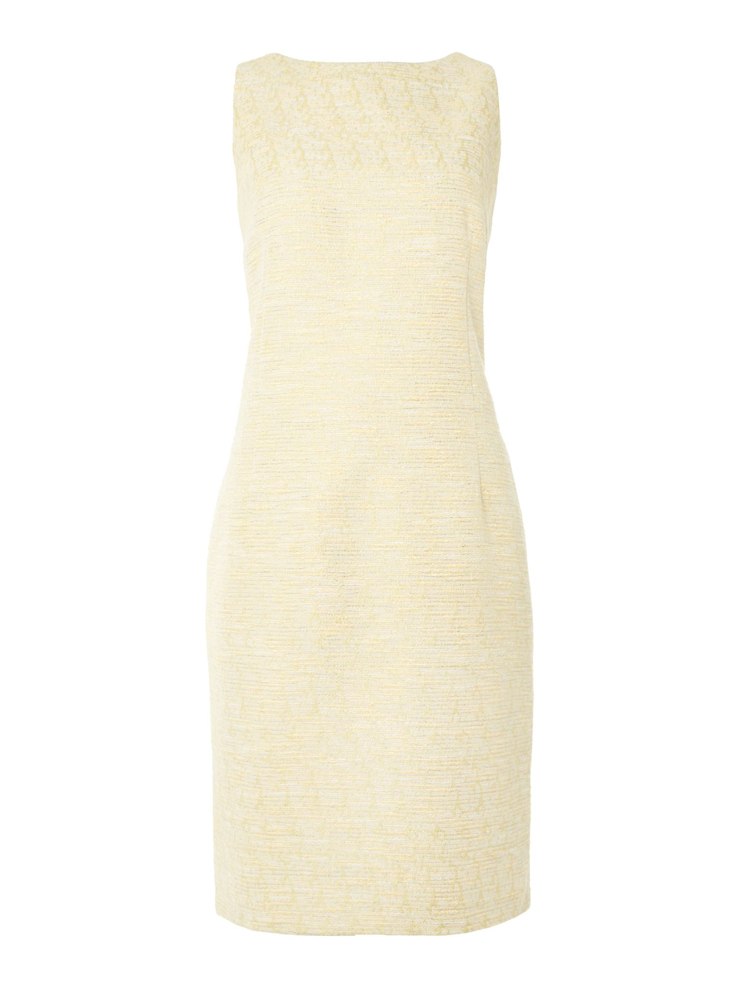 Angelica tweed shift dress