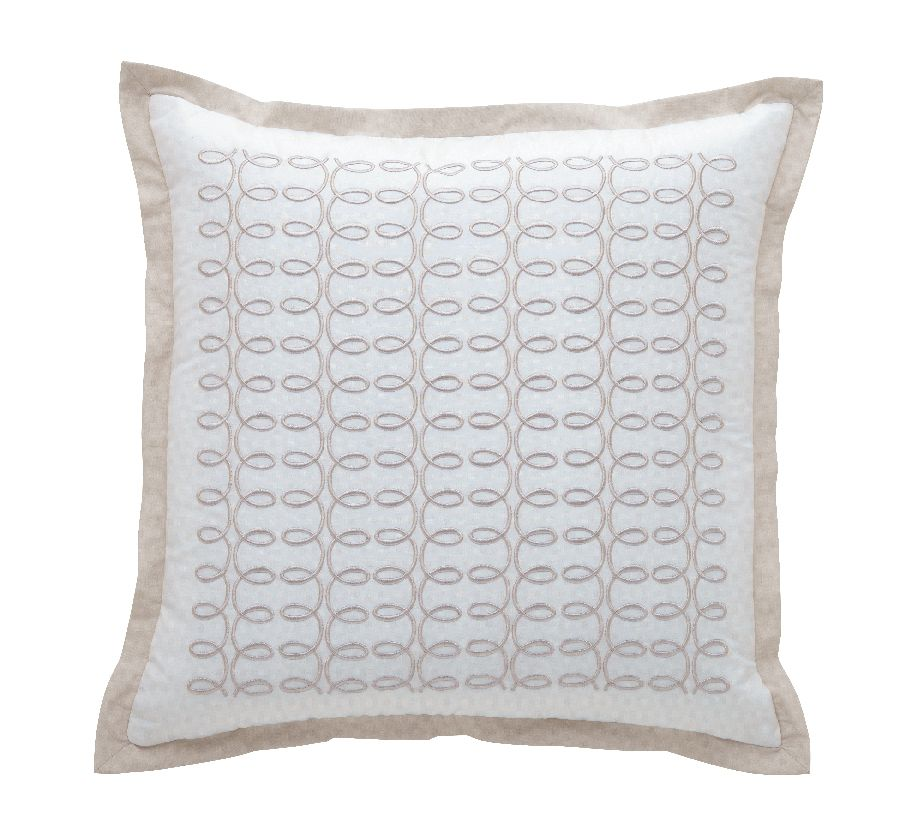 Italics cafecrem cushion cover 42x42