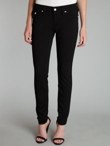 Misty skinny ponte jeans with crystals