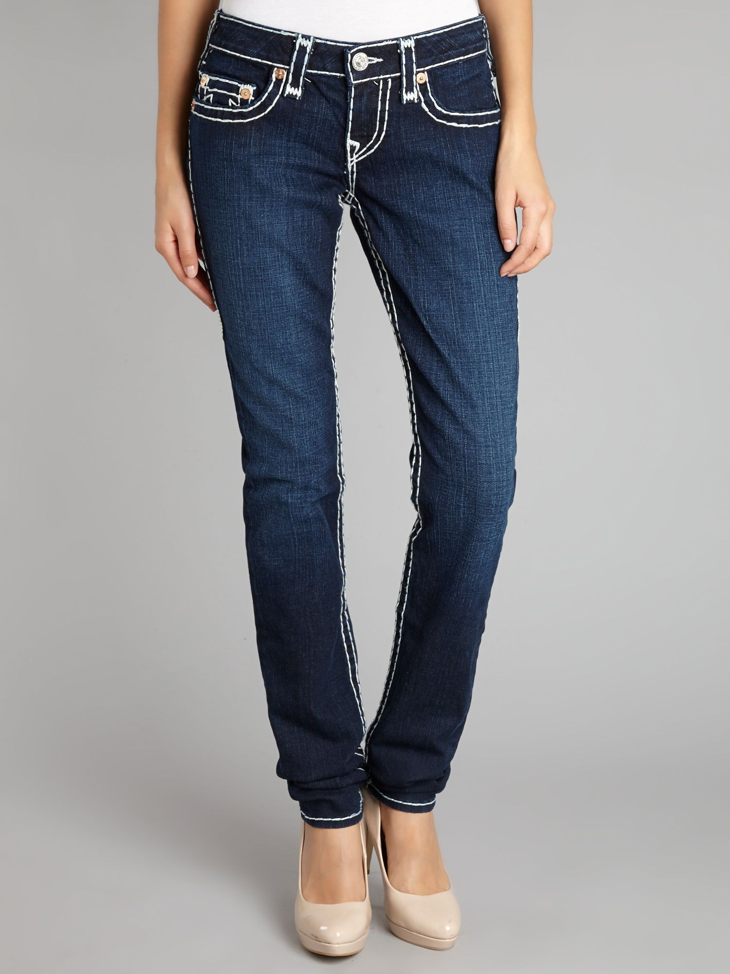 Stella super-t skinny jeans in Lonestar