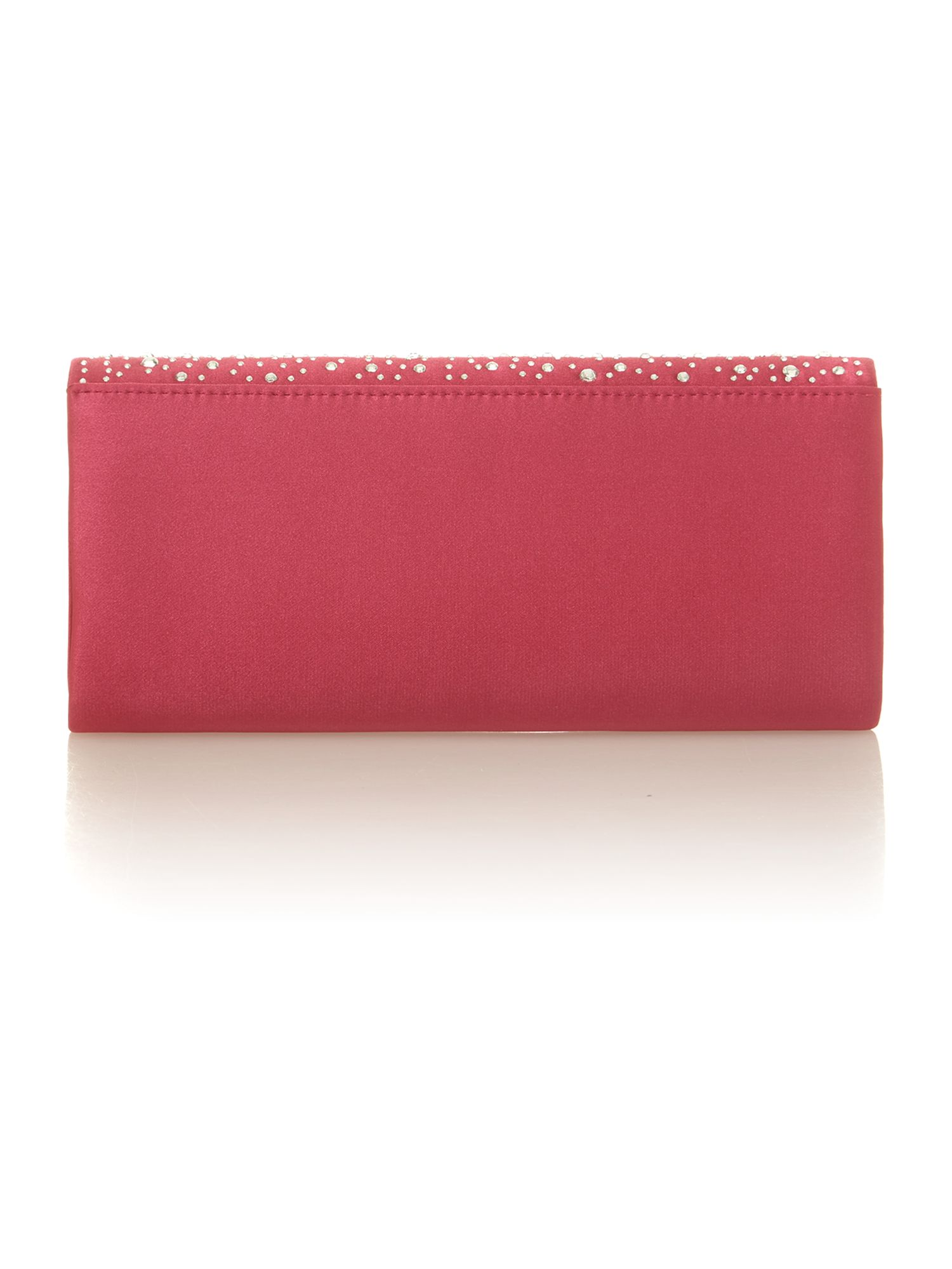 Flap over clutch bag