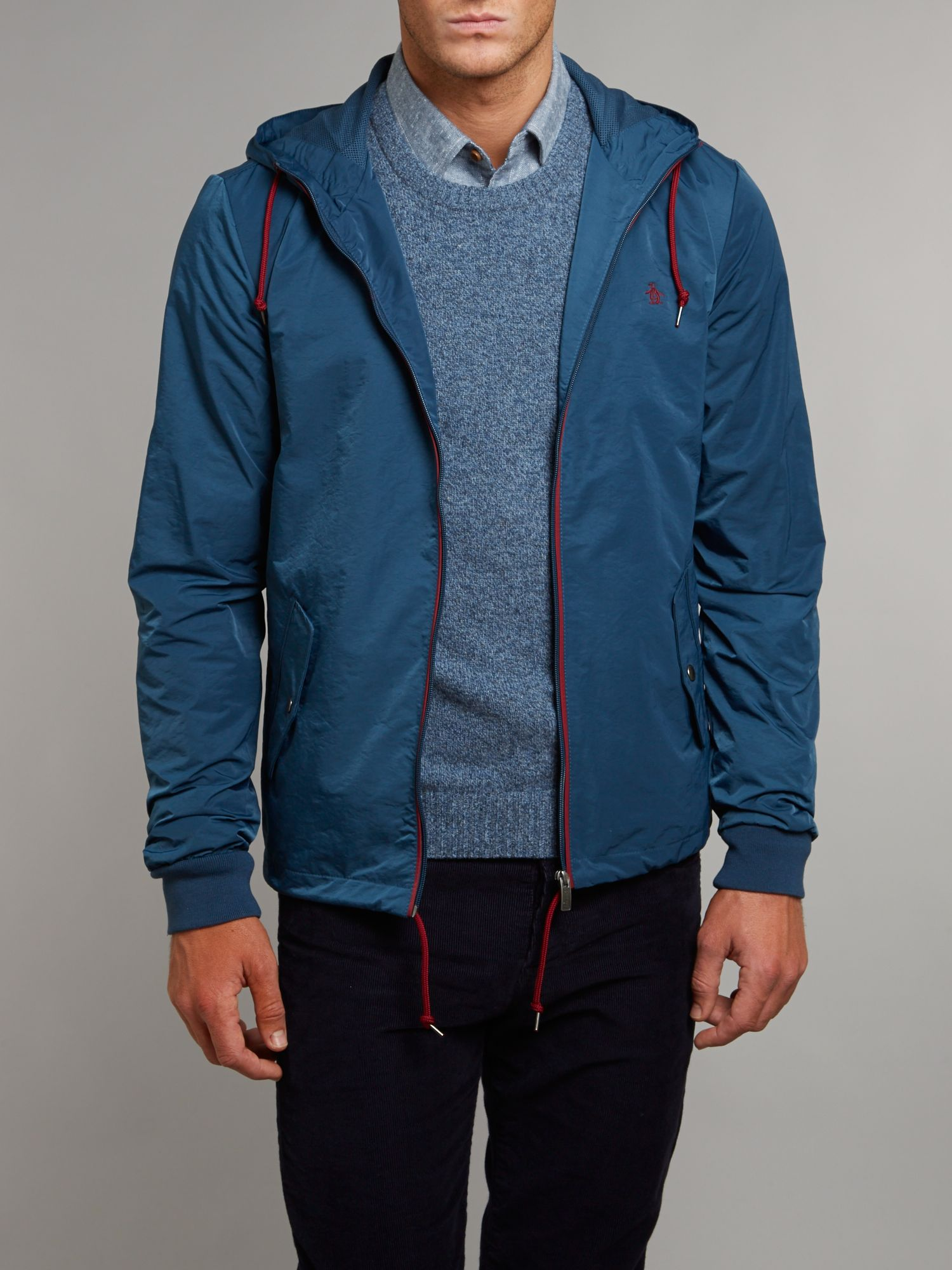 Hooded ranter jacket
