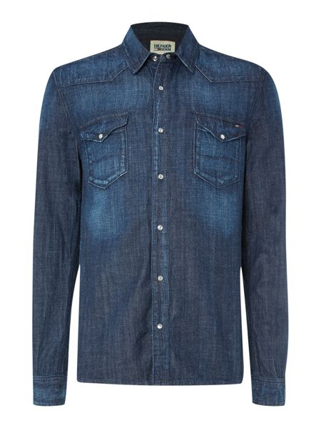 Tommy Hilfiger Gratton Montreal Denim Shirt