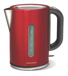 Elipta jug kettle, red