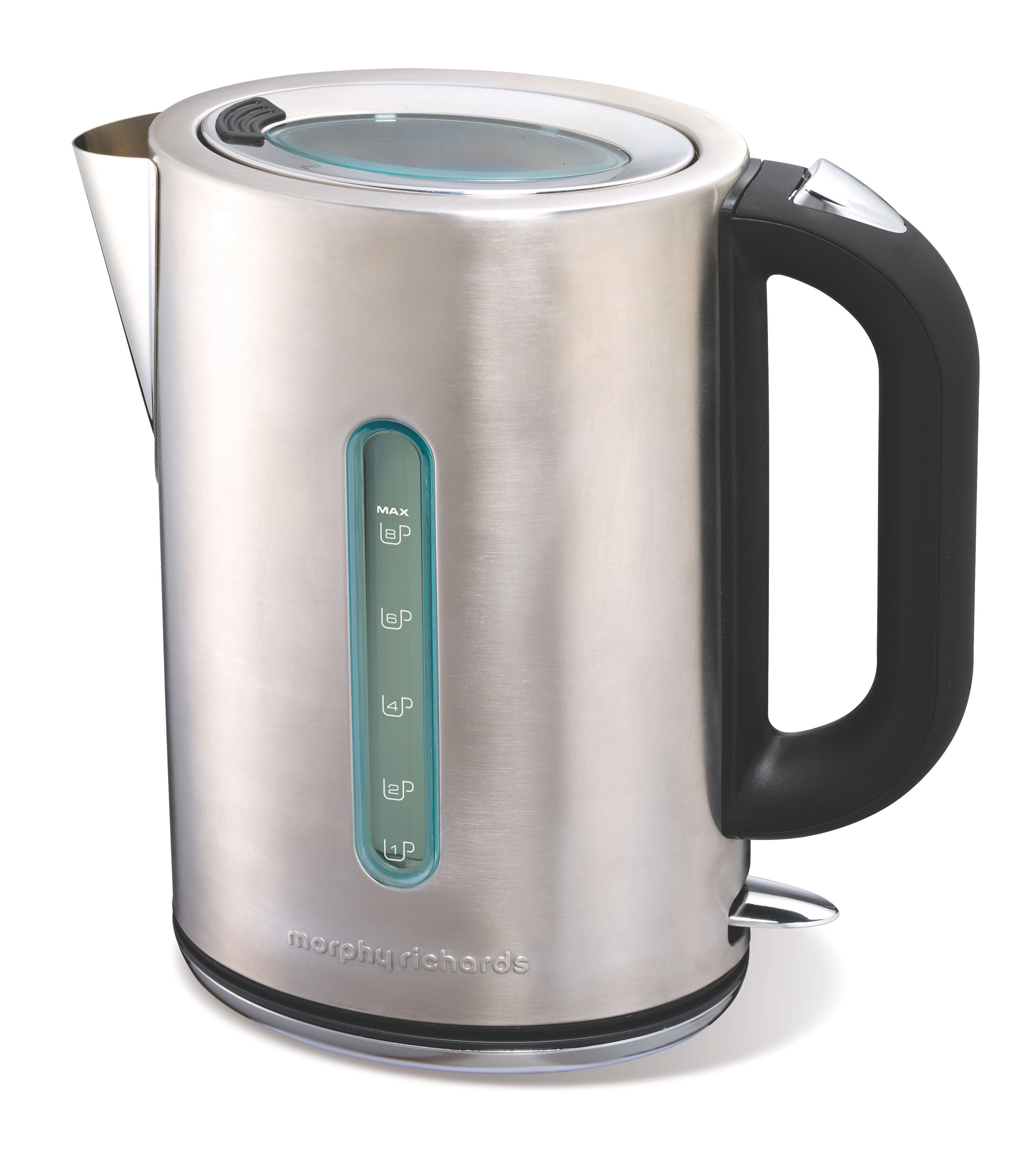 Elipta jug kettle brushed stainless steel