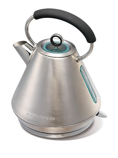 Morphy Richards Elipta traditional kettle brushed stainless steel