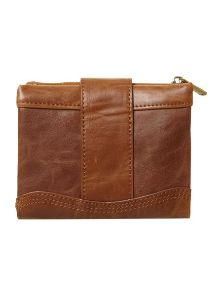 Ollie & Nic Tan small flapover purse