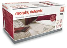 Morphy Richards Morphy Richards kingsize electric blanket 600004