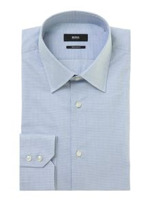 Enzo mini check regular fit shirt