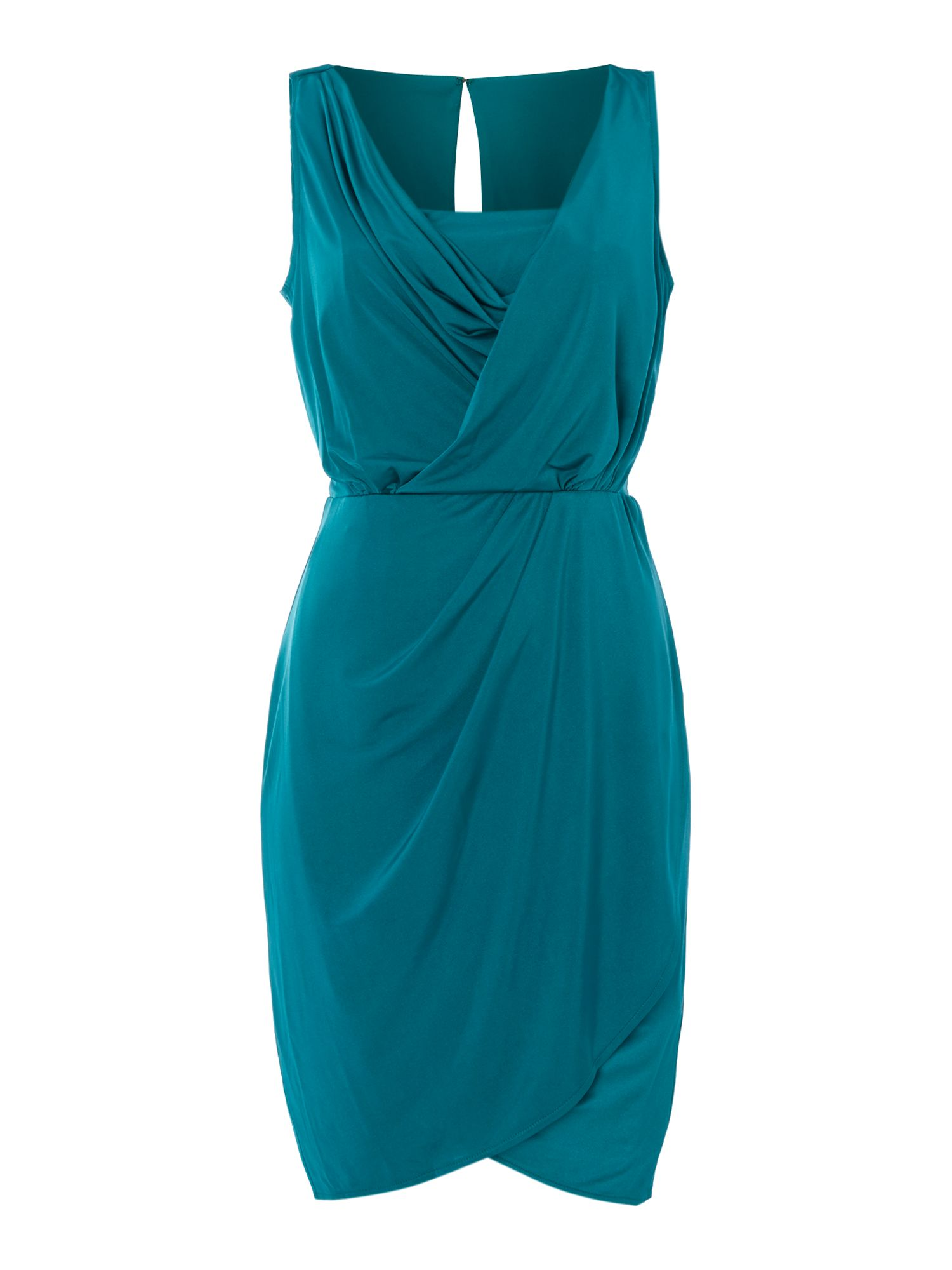 Grecian drape dress