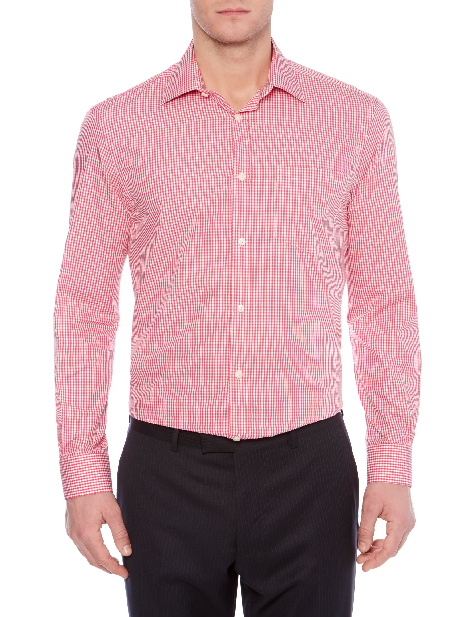 Chamber Gingham Check Shirt With Pocket