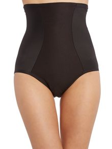 Cut and sew firm control high waist brief