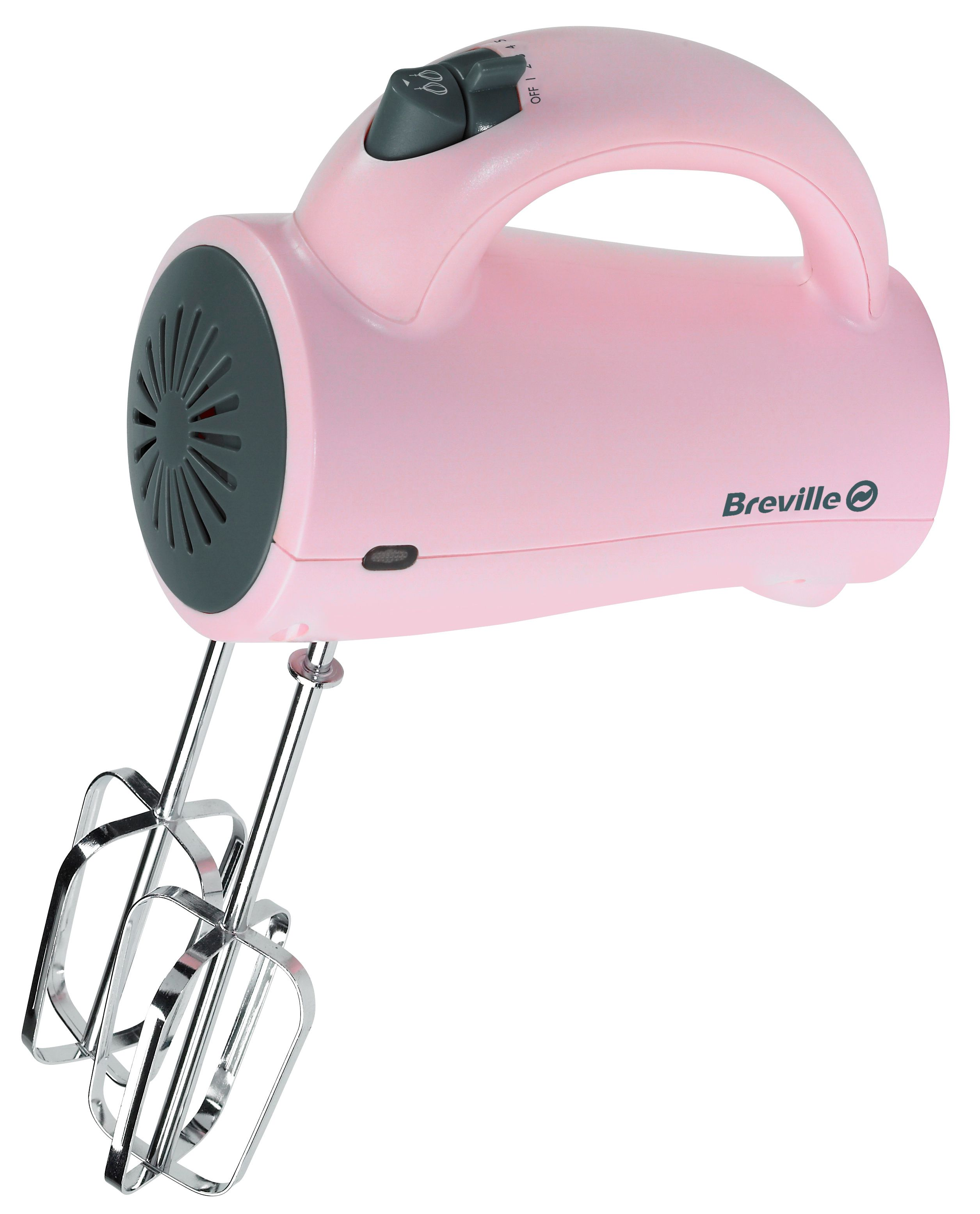 Breville Pick&Mix hand mixer, starberry cream pink