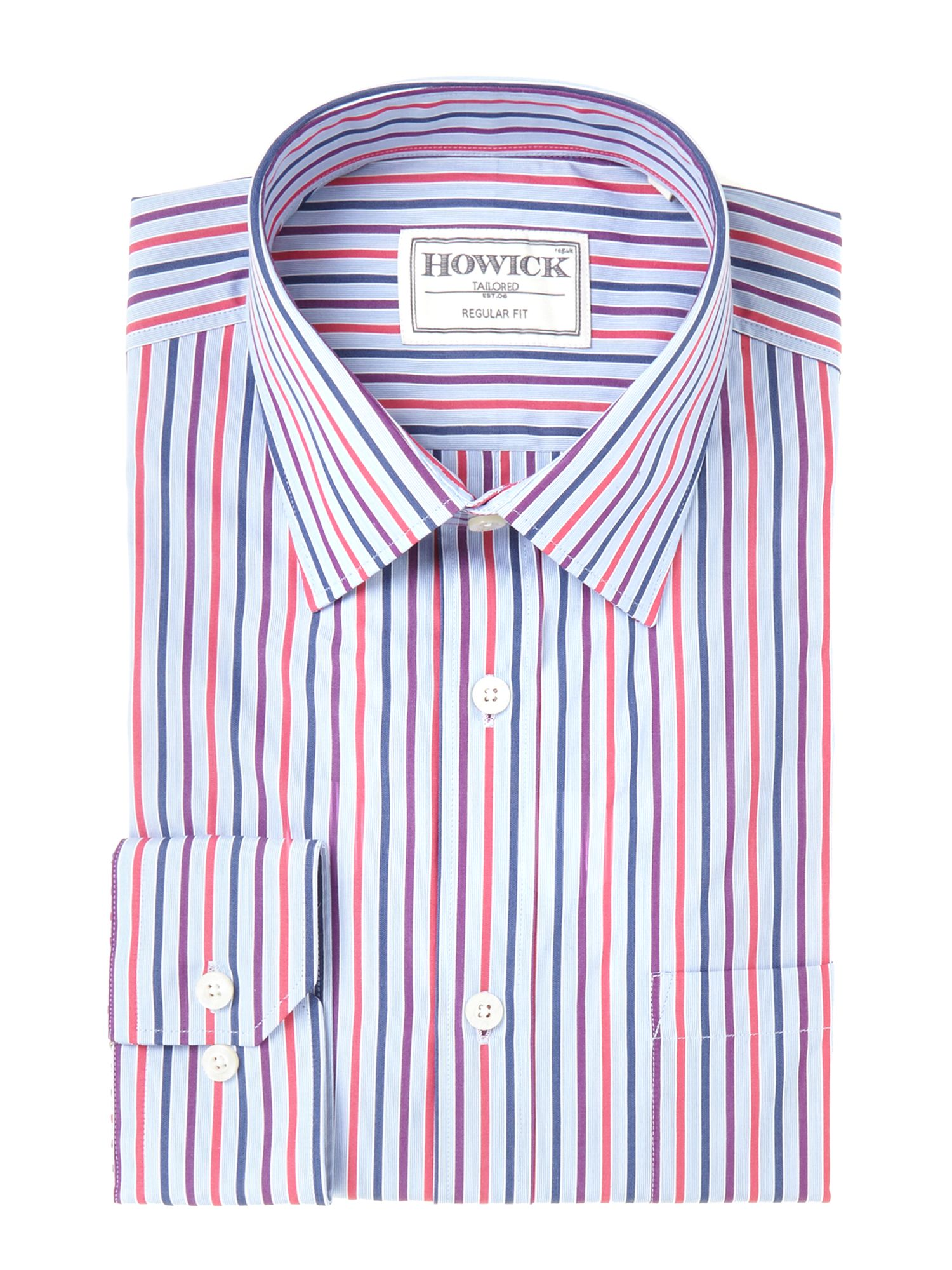 Kachess Bold Multistripe Shirt with Pocket