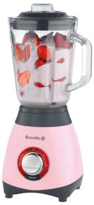 Breville Pick & Mix blender, strawberry cream pink
