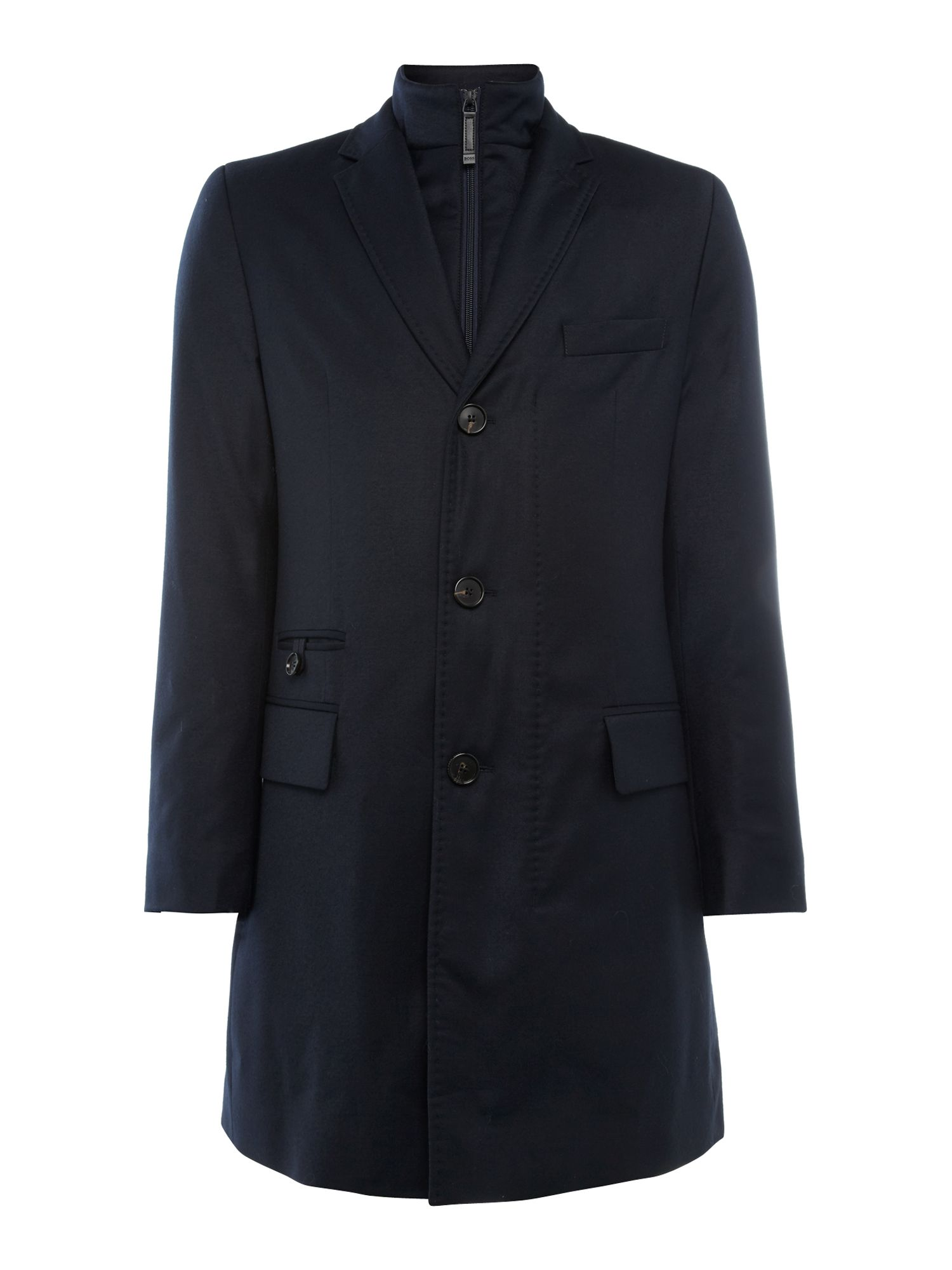Duncan slim fit coat