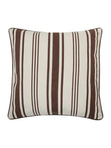 Chocolate Stripe Print Cushion