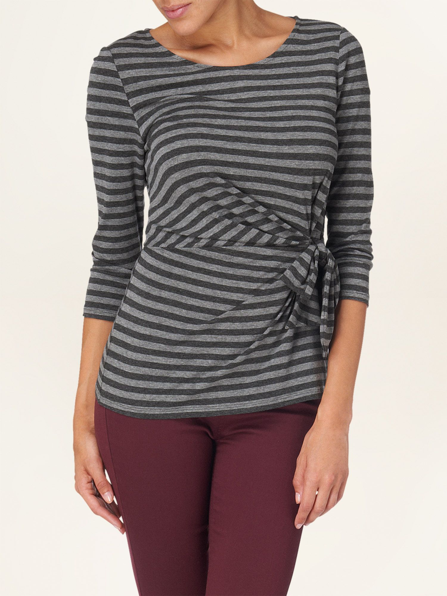 Sabina stripe top