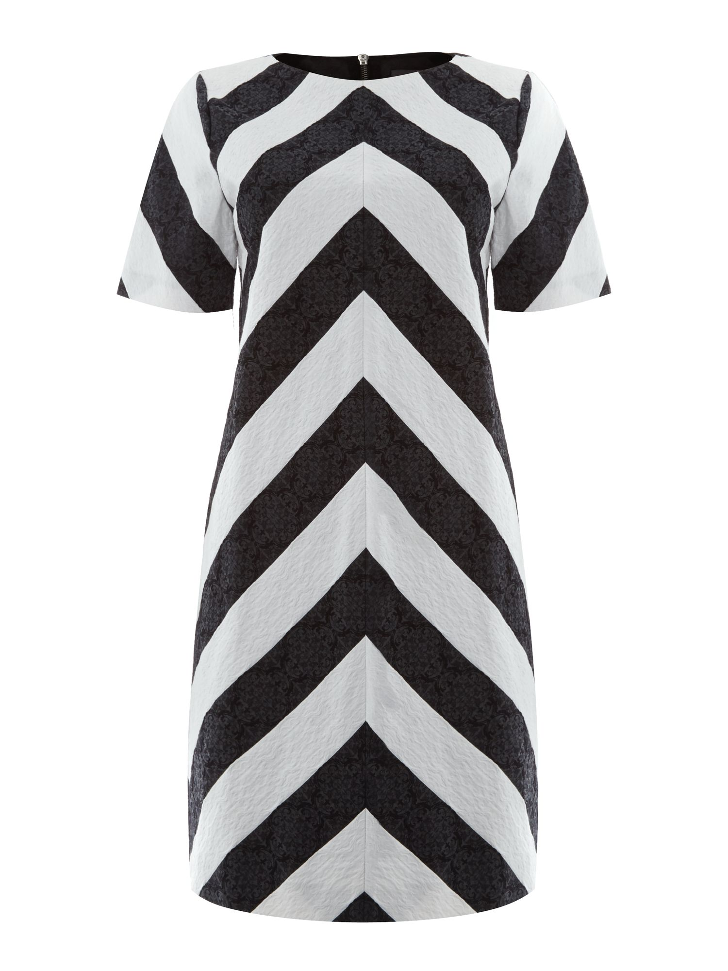 Chevron shift dress