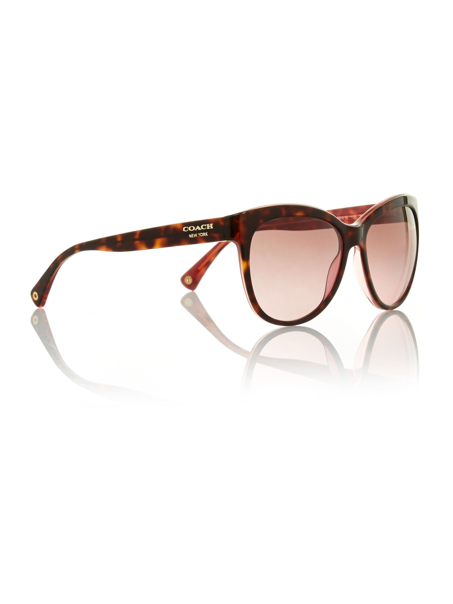Ladies samantha tortoise / pink sunglasses