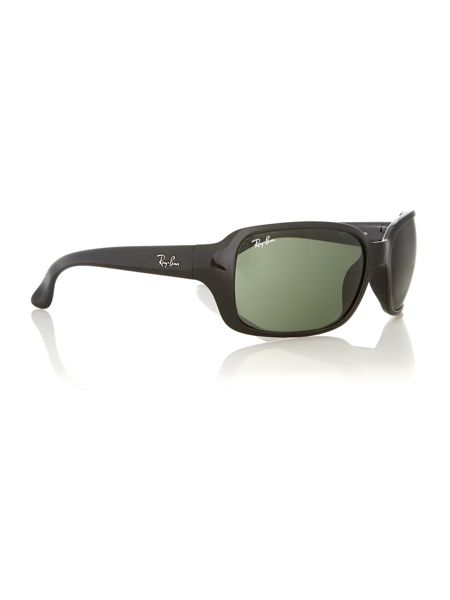 Ray-Ban Unisex black rectangular sunglasses