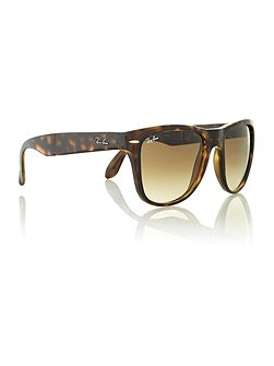 Unisex dark havana folding aviator sunglasses