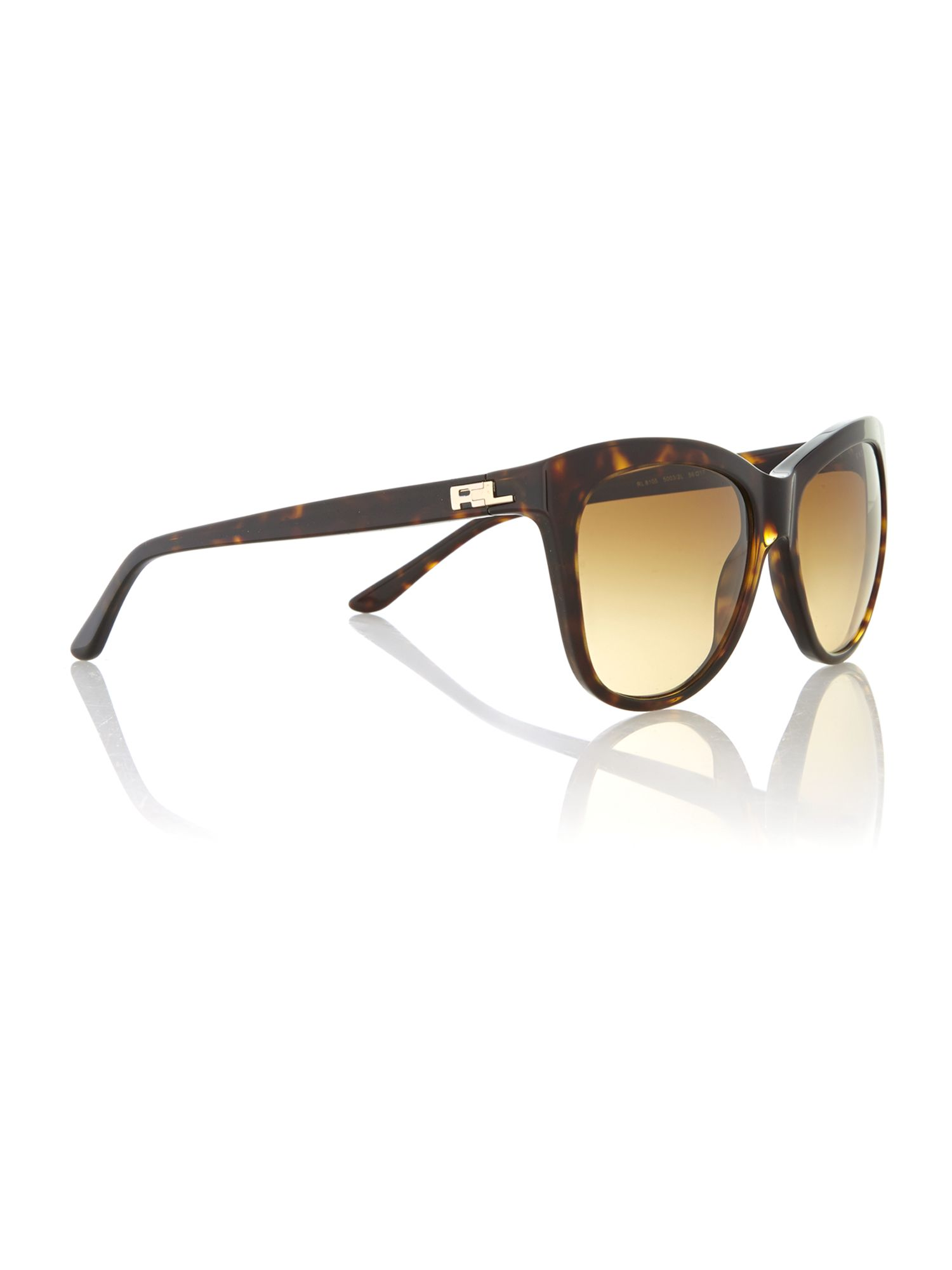 Dark havana acetate sunglasses