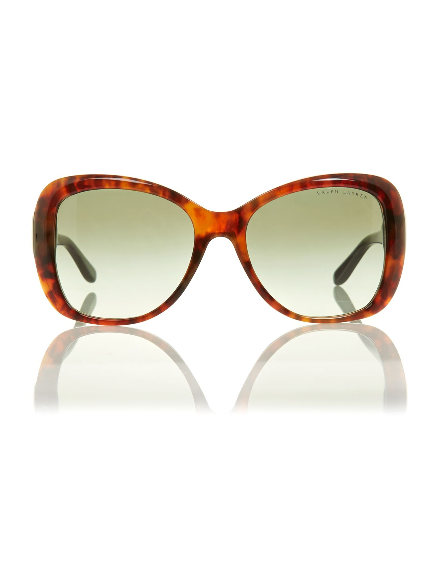 Ladies gold havana sunglasses