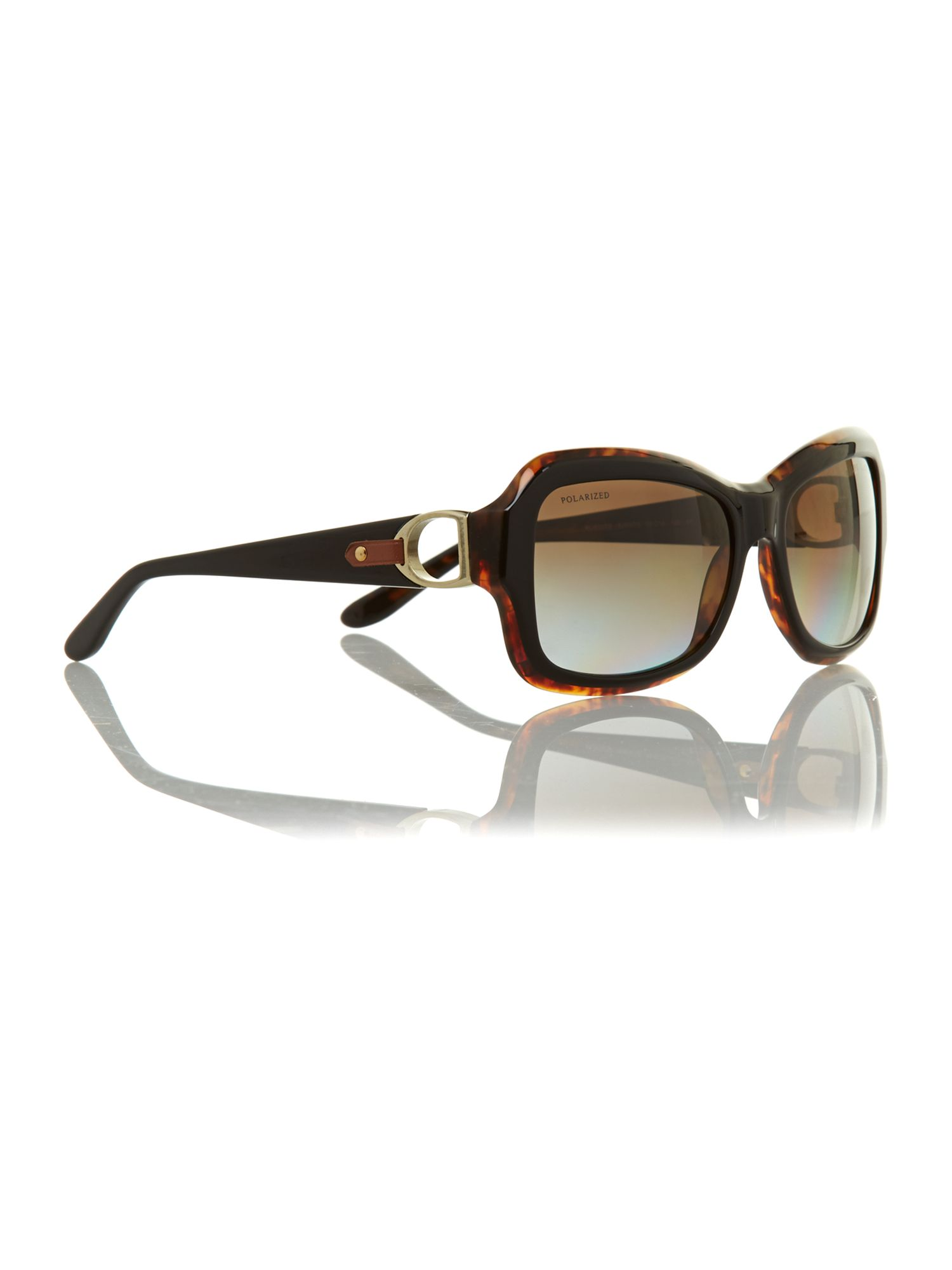 Ladies black havana sunglasses