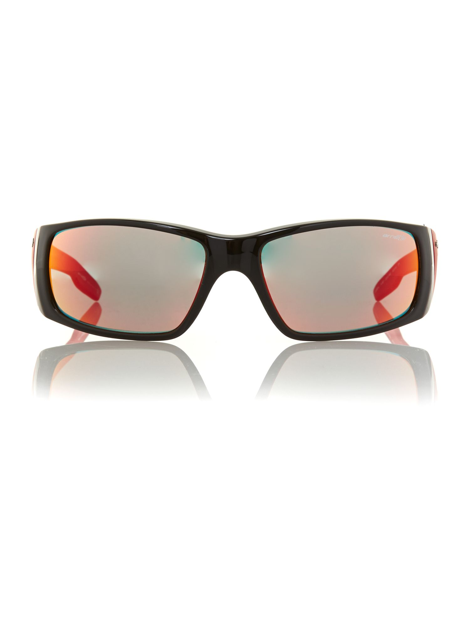 Men`s unreal black red sunglasses