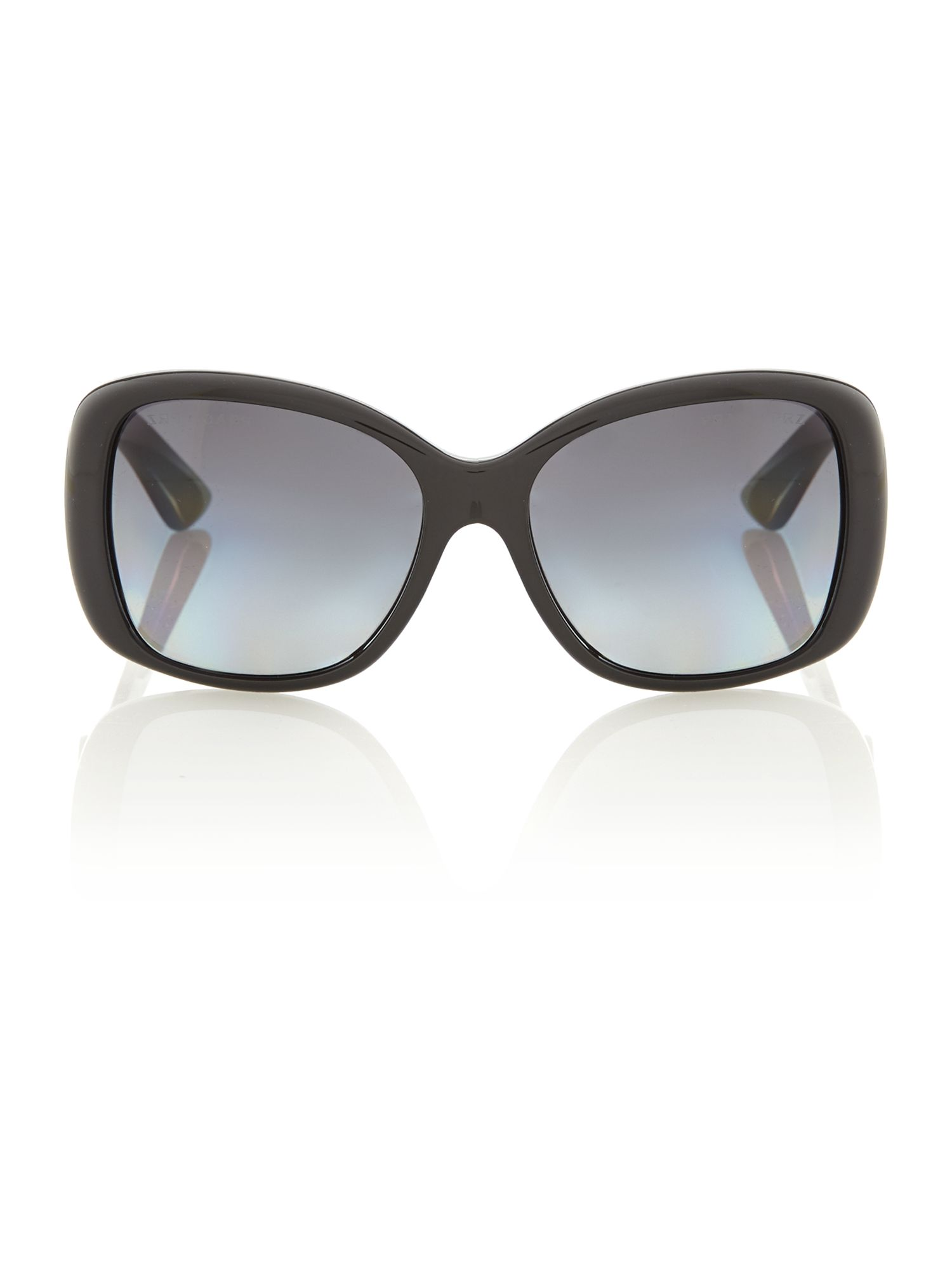 Ladies black polarised sunglasses