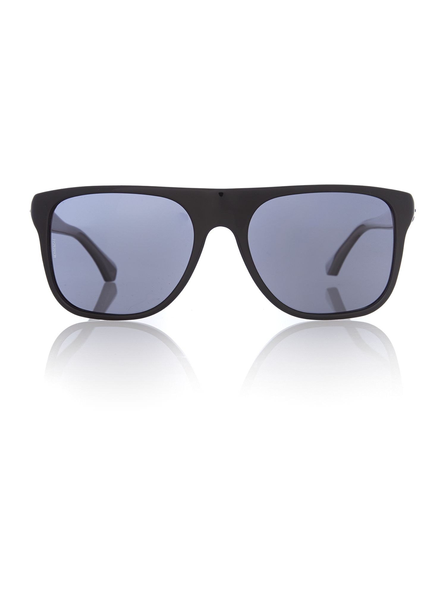 Mens Black Square Sunglasses