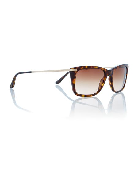 Giorgio Armani Sunglasses Ladies Matte Havana Sunglasses