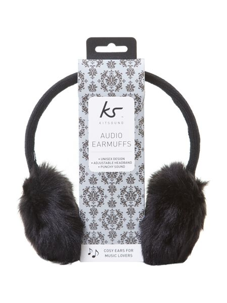 KitSound Audio earmuff faux fur