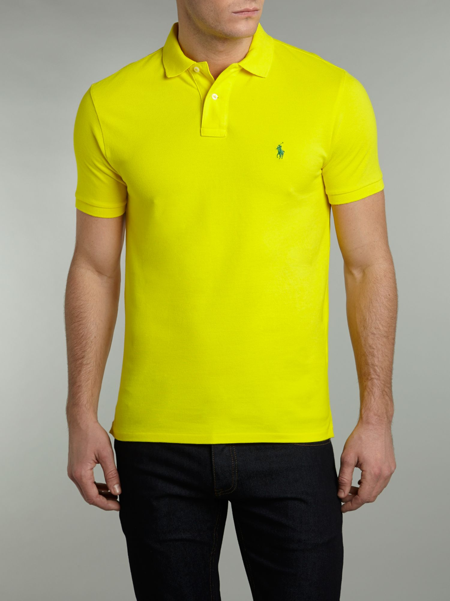 Classic slim fit polo