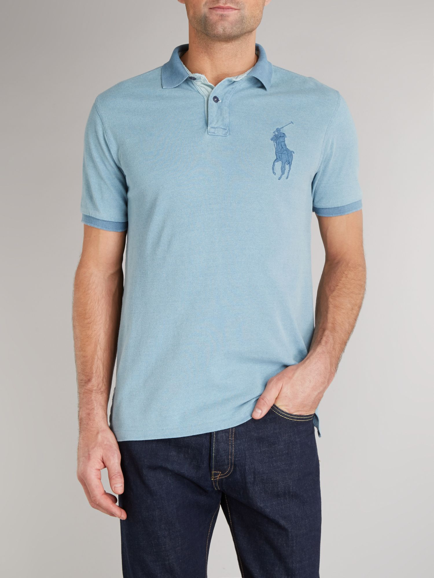 Custom fit tonal polo