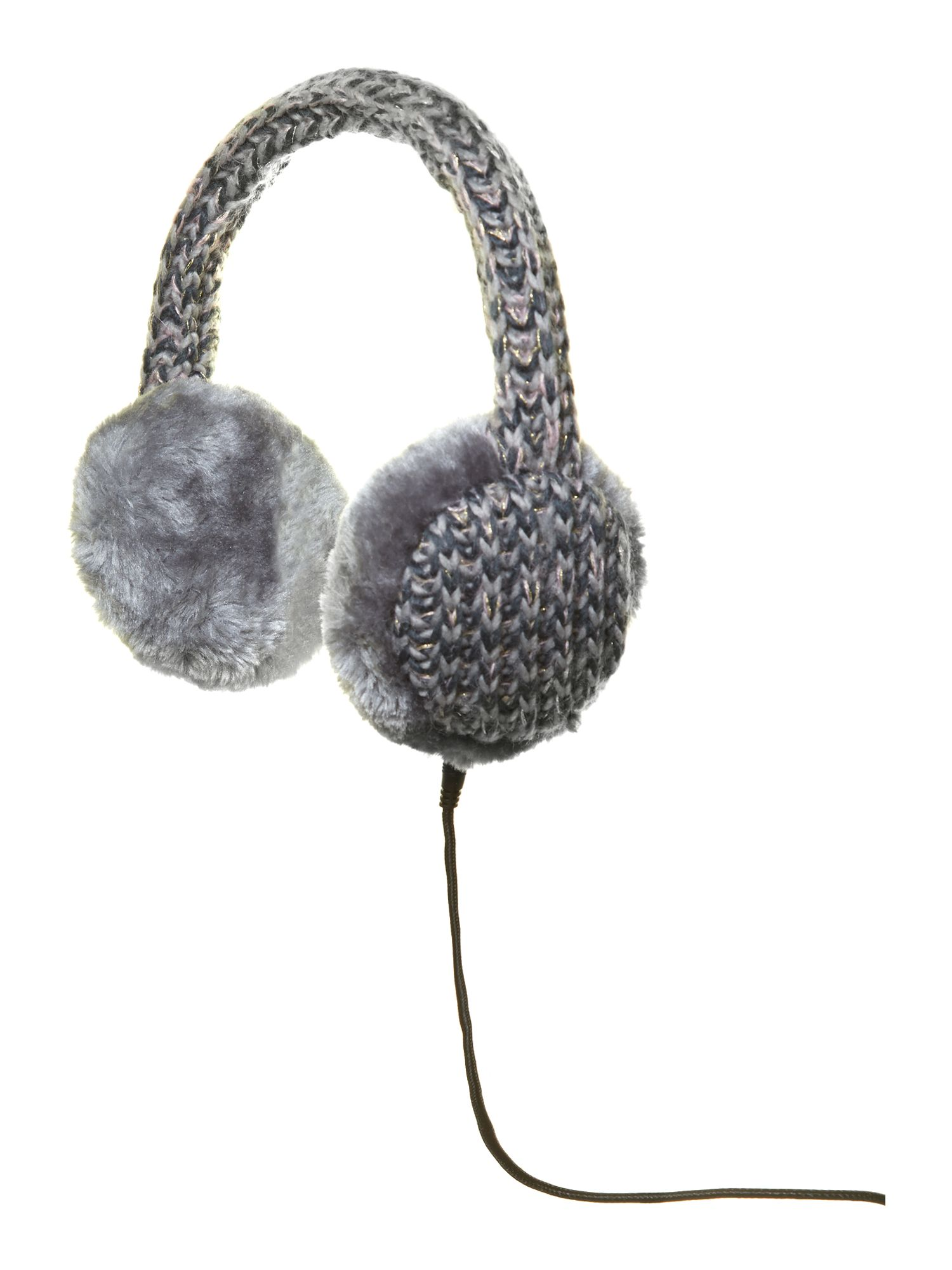 Audio earmuff multi knit