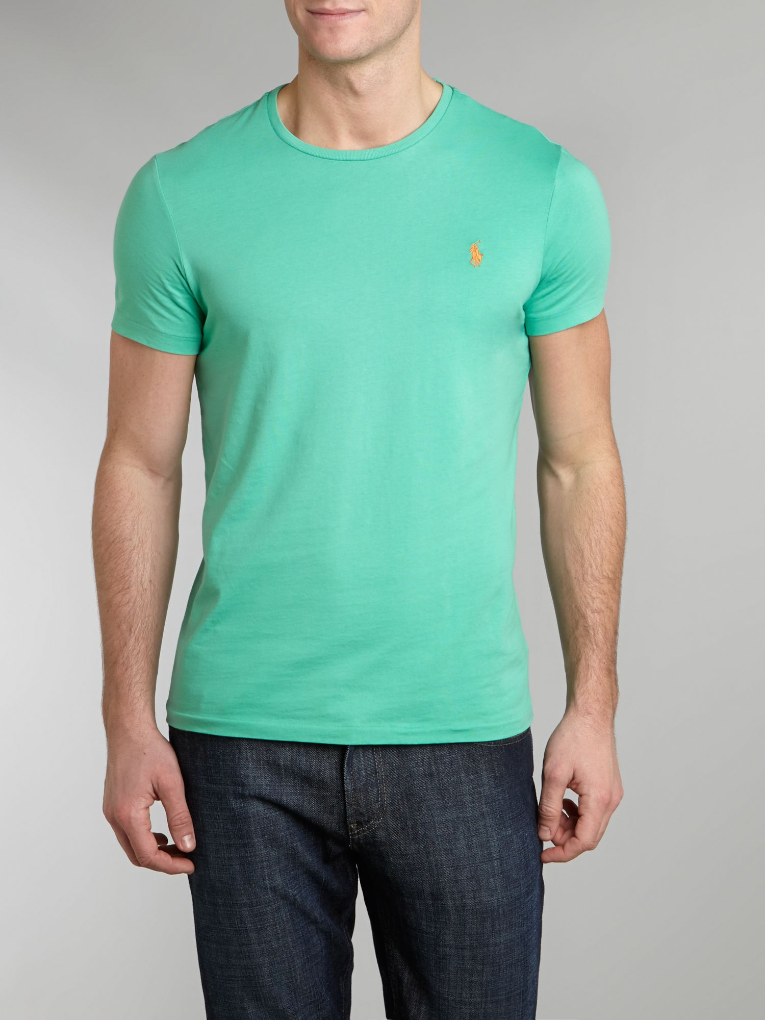 Classic custom fit crew neck t-shirt